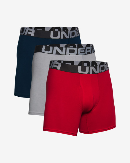 "Under Armour Charged Cotton® 6"" Боксерки 3 броя"
